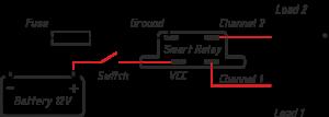 Aansluitschema YDSR-01