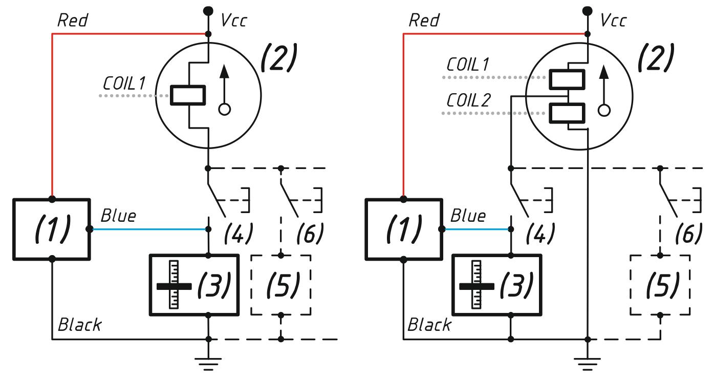 YDTA-01 tank niveau adapter aansluit opties