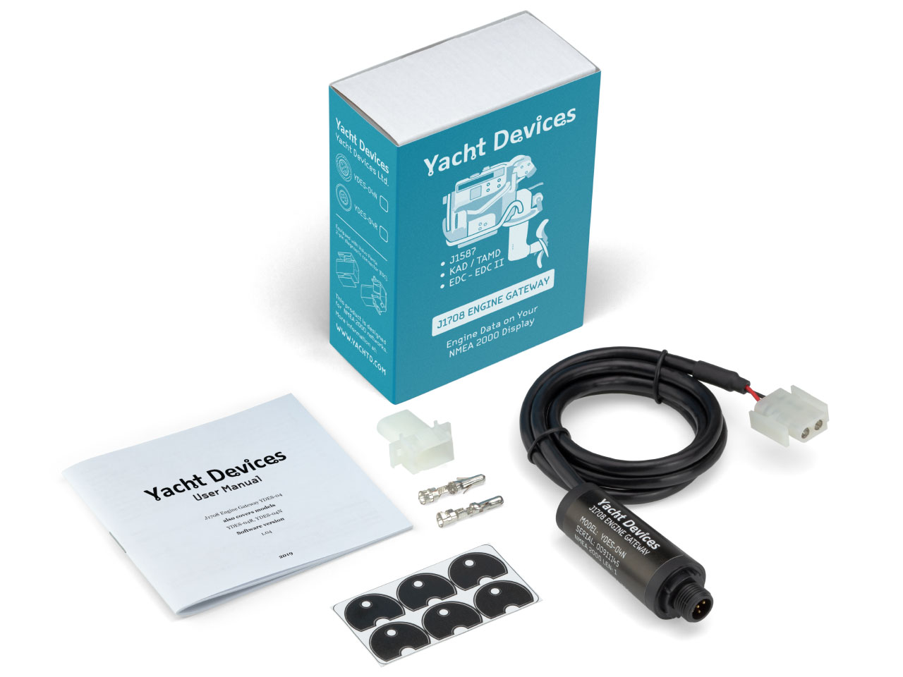 YDES NMEA2000 J1708 Adapter