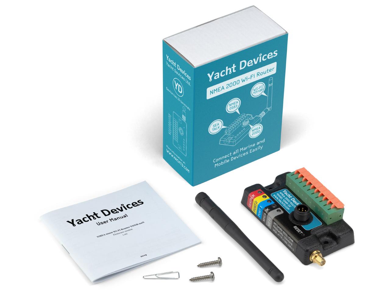YDNR NMEA2000 NMEA0183 Wifi Router